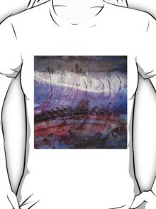 Mixed Media Abstract 2 by Heather Holland T-Shirt