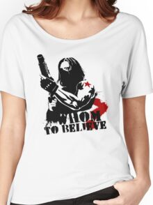 Whom to believe? Women's Relaxed Fit T-Shirt