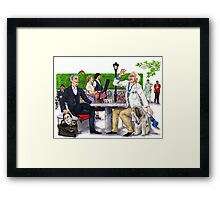 Checkmate - Doctor Who Framed Print