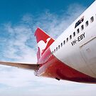 qantas plane by evapod