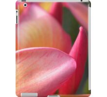 Portfolio: Orange plumeria #5, Big Island, Hawai'i iPad Case/Skin