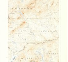 Maine USGS Historical Map Pierce Pond 460743 1927 62500 by wetdryvac