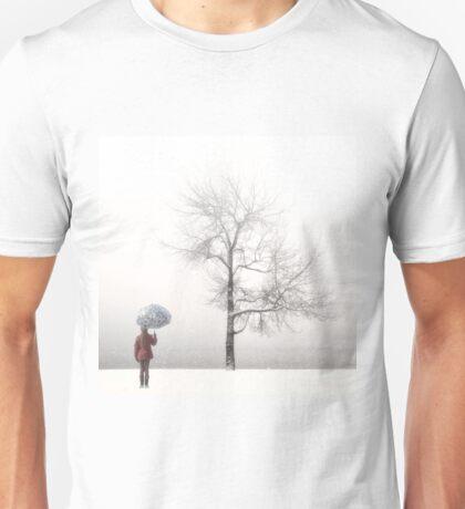 winter tree Unisex T-Shirt