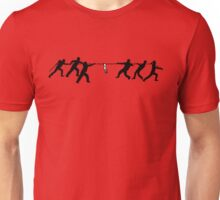 Super mega ultra hyper extreme tug of war with ultra high super exotic barbed wire T-Shirt