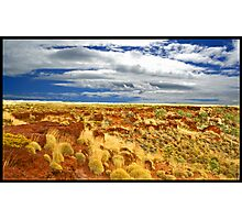 Red Outback Photographic Print