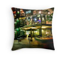 Walters Wine Bar, Southbank, Melbourne Throw Pillow