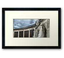 Southsea War Memorial Framed Print