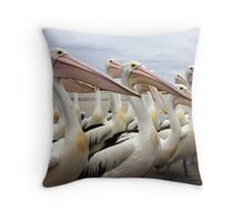 All the usual suspects Throw Pillow