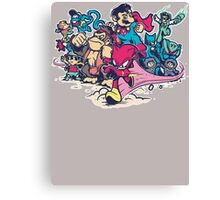 Super Smash League Canvas Print