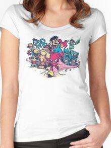 Super Smash League Women's Fitted Scoop T-Shirt