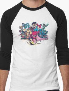 Super Smash League Men's Baseball ¾ T-Shirt