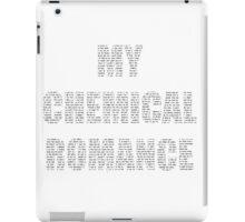 MY CHEMICAL ROMANCE BLACK iPad Case/Skin