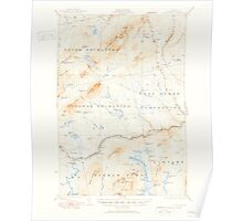 Maine USGS Historical Map Pierce Pond 460747 1927 62500 Poster