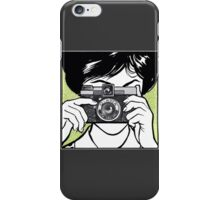 Vintage Diana Camera Woman Photographer iPhone Case/Skin