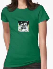 Vintage Diana Camera Woman Photographer Womens Fitted T-Shirt