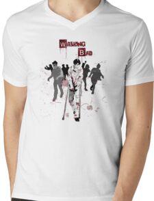 Walking Bad Mens V-Neck T-Shirt