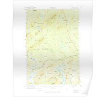 Maine USGS Historical Map Pierce Pond 460749 1958 62500 Poster