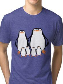 Penguin Family  Tri-blend T-Shirt