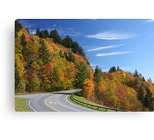 Newfound Gap Road Canvas Print