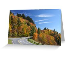 Newfound Gap Road Greeting Card