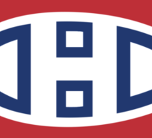 montreal canadiens heart Sticker