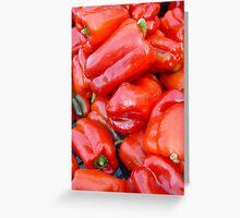 Peperoni Greeting Card