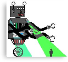 Impractically Designed Robot Canvas Print