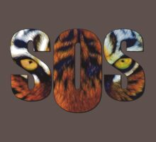 SOS - Tiger by Mundy Hackett