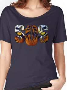 SOS - Tiger Women's Relaxed Fit T-Shirt