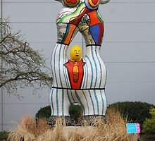 The Poet and his MUSE by Niki de Saint Phalle by barnsis