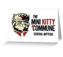 Great Leader - General Mittens Greeting Card