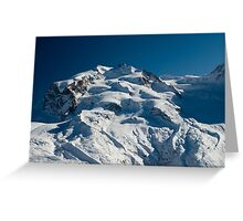 Monte Rosa  Greeting Card