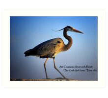 All Creatures Great And Small Art Print