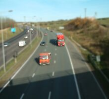 M62 Eastbound by m4rtys