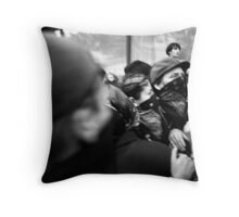 D.C. Protest III Throw Pillow