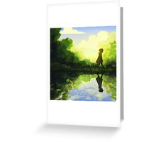 Afternoon Reflection Greeting Card