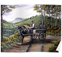 Bringing home the peat in Ireland - Oil Paintings Poster