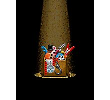 Five Nights at Freddy's 3 - Pixel art - What can we use? - Box of animatronics Photographic Print