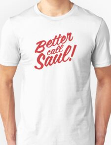 Better Call Saul Clean Text T-Shirt
