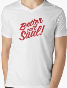 Better Call Saul Clean Text Mens V-Neck T-Shirt