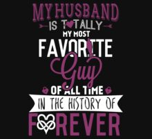 Favorite Husband 1 T-shirt by musthavetshirts