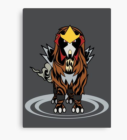 Tribal Entei Canvas Print