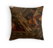 Kings of the Ceiling Throw Pillow