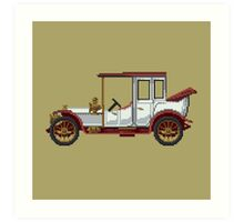 The king classic car Art Print