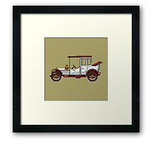 The king classic car Framed Print