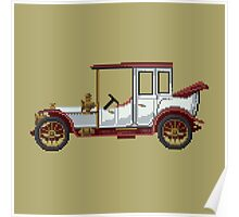 The king classic car Poster