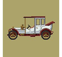 The king classic car Photographic Print