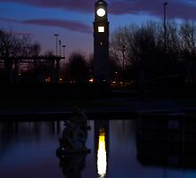 clock tower by elswervio