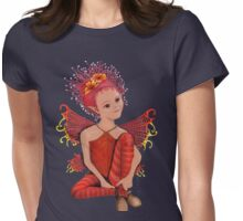 Night time fairy Womens Fitted T-Shirt