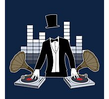 DJ Gramophone Photographic Print